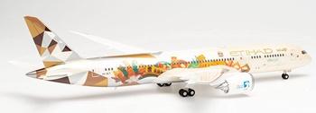 Etihad Airways Boeing 787-10 Dreamliner.