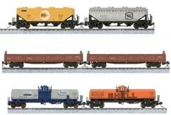 Set de 6 vagones de carga.