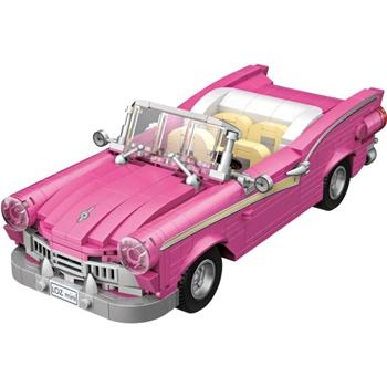 Cabriolet de color rosa, 560 piezas.