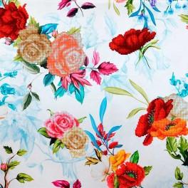 MINIART CRAFT: Pastel blue bouquets.
