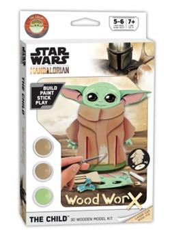 STAR WARS MANDALORIAN. Maqueta de madera.
