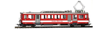 Vagón portaequipajes de piñón y cremallera FO BDeh 2/4 44