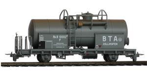 Vagón RhB P10003 en color gris.