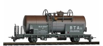 Vagón RhB P10004 en color gris.