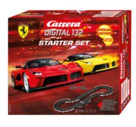 Set depistas de carreras Carrera Starter Set DIGITAL con dos coches..