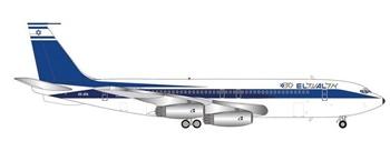 El Al Israel Airlines Boeing 707-400tm. Escala 1/200.