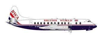 British World Airlines Vickers Viscount 800.