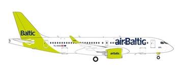 AirBaltic Airbus A220-300 100 A220. Escala 1/200.