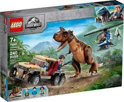 JURASSIC WORLD Persecución Carnotaurus.