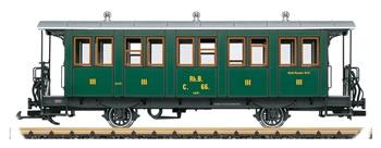 Coche de pasajeros 3º clase RhB, época VI.
