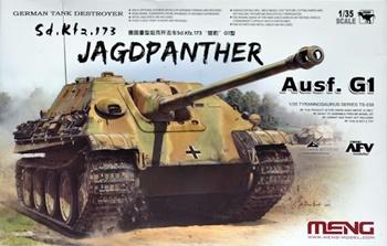 Sd. Kfz. 173 Jagdpanther Ausf. G1 tanque aleman.